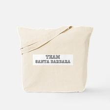 Team Santa Barbara Tote Bag