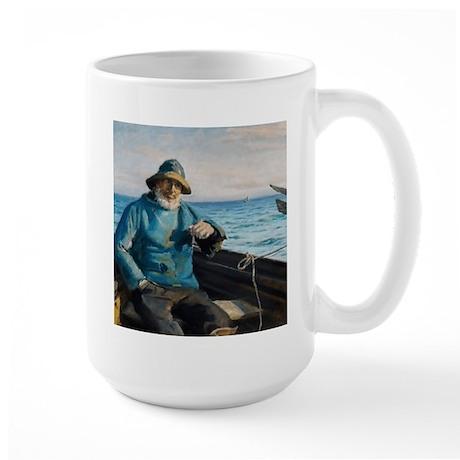 Michael_Ancher_-_En_Skagensfisker_siddende_i_en_j