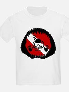 iDive Scuba Shark Jaw T-Shirt
