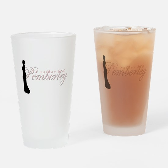 pemberley.png Drinking Glass