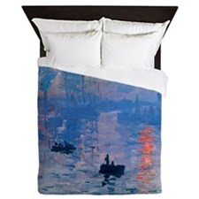Claude Monet Impression Sunrise Queen Duvet