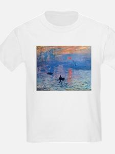 Claude Monet Impression Sunrise T-Shirt
