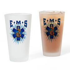 EMS Lightning Drinking Glass
