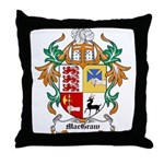 MacGraw Coat of Arms Throw Pillow