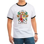 MacGraw Coat of Arms Ringer T