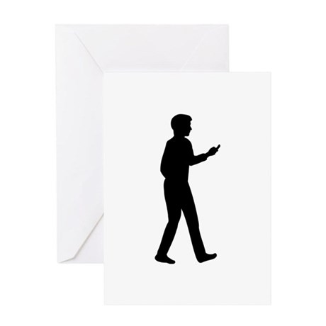 Cell Smartphone Greeting Card