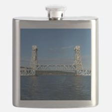 Portage Lake Lift Bridge Flask