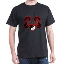 Yin Yang Twin Dragon T-Shirt
