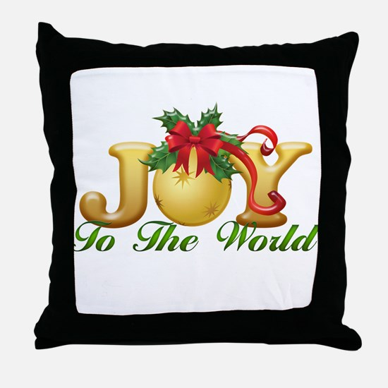 2-Joy to the World.png Throw Pillow
