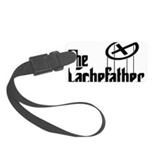 Geocaching THE CACHEFATHER black Luggage Tag