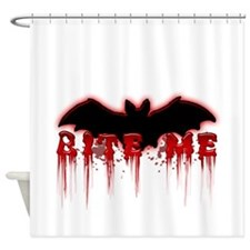 Bite Me.png Shower Curtain