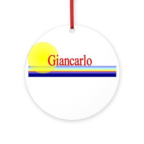 Giancarlo Ornament (Round)