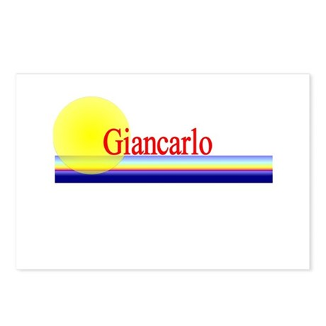 Giancarlo Postcards (Package of 8)