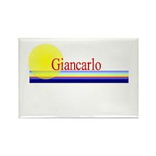 Giancarlo Rectangle Magnet