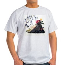 Scottish Terrier and Hummingbird T-Shirt