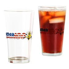 Bingo Bee Drinking Glass