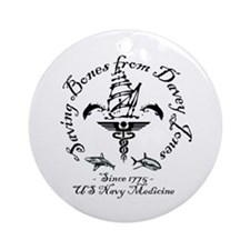 Davey Jones1.png Ornament (Round)