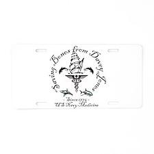 Davey Jones1.png Aluminum License Plate