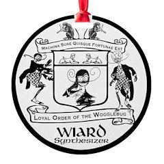 Loyal Order of the Wogglebug Round Ornament