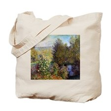 Monet Garden At Montgeron Tote Bag
