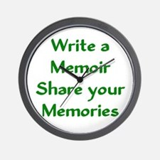 Write a Memoir, Share your Memories - Green Wall C