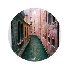 Canal in Venice Italy Ornament (Round)
