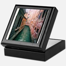 Canal in Venice Italy Keepsake Box