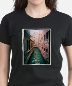 Canal in Venice Italy Tee