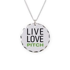 Live Love Pitch Necklace