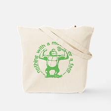 Keep calm in green Tote Bag