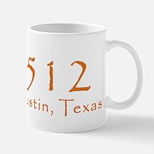 512 Austin Texas Area Code T-Shirt Mug