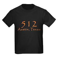 512 Austin Texas Area Code T-Shirt T
