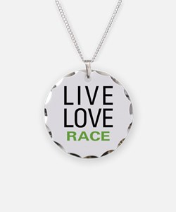 Live Love Race Necklace