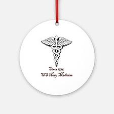 US Navy Medicine Ornament (Round)