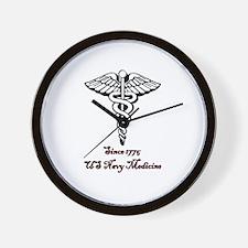 US Navy Medicine Wall Clock