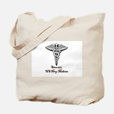 US Navy Medicine Tote Bag
