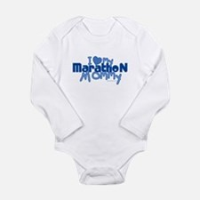Cool Marathon mom Long Sleeve Infant Bodysuit