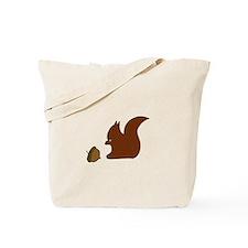 Unique Squirrel boy Tote Bag