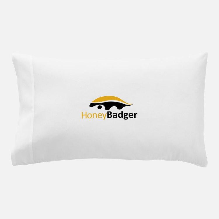Honey Badger Logo Pillow Case