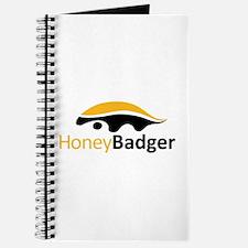Honey Badger Logo Journal