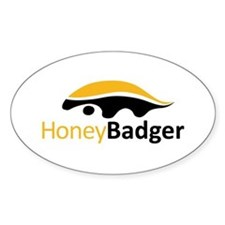 Honey Badger Logo Decal
