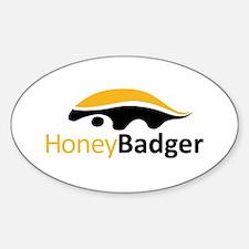 Honey Badger Logo Decal