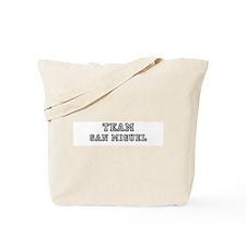Team San Miguel Tote Bag