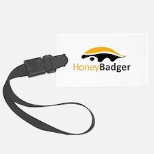 Honey Badger Logo Luggage Tag