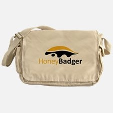 Honey Badger Logo Messenger Bag