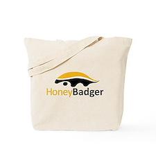 Honey Badger Logo Tote Bag