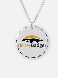 Honey Badger Logo Necklace