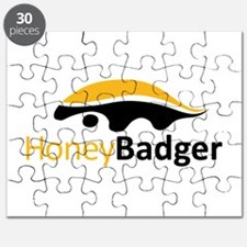 Honey Badger Logo Puzzle
