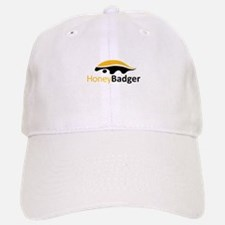 Honey Badger Logo Baseball Baseball Cap