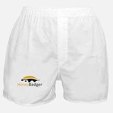 Honey Badger Logo Boxer Shorts